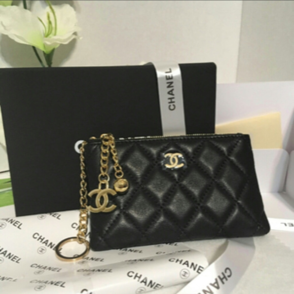 3d07ef278064 CHANEL Bags | Vip Gift Bag Wallet Coin Pouch New | Poshmark